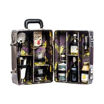 Bramble Cocktail case, L28 x D20 x H38cm - 1050cl, purple