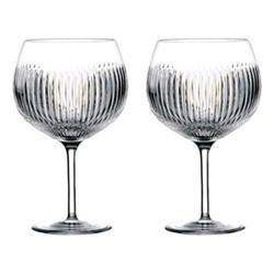 Gin Journey - Aras Pair of balloon glasses , 55cl, clear