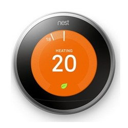 Learning thermostat H8.4 x W8.4 x D3cm