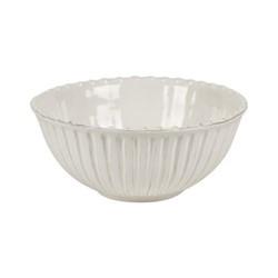 Lamorran Medium serving bowl, D23.5 x H10.2cm, white