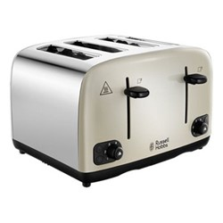 Cavendish - 24091 Toaster, 4 slice, cream