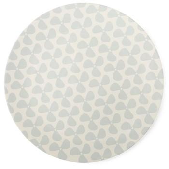 Helice Chalk Platter, W34 x H2.5cm, chalk/white