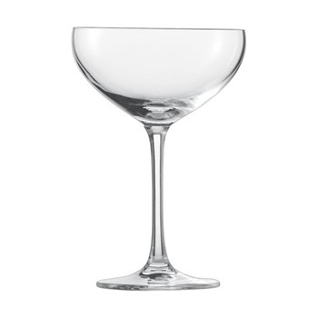 Bar Special Set of 6 champagne bowl glasses, H15.2 x D106cm - 281ml, clear