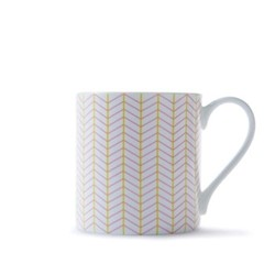 Ebb Mug, H9cm - 37.5cl, pink/yellow