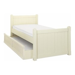 Charterhouse Sleepover bed, L203 x W98 x H92cm, antique white