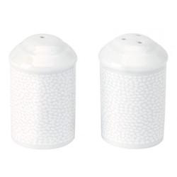 Seychelles Salt and pepper shaker, white
