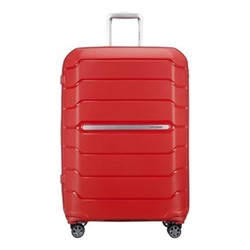 Flux Spinner expandable suitcase, 75 x 52 x 31/35cm, red