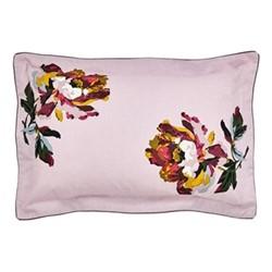 Heritage Peony Oxford pillowcase, L48 x W74 cm, lilac