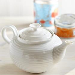 Ceramics Teapot, 1.13 litre, White