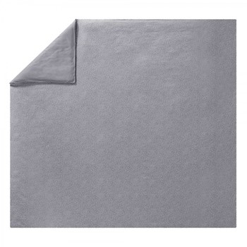 Stellaire Super king size duvet cover, L220 x W260cm, grey