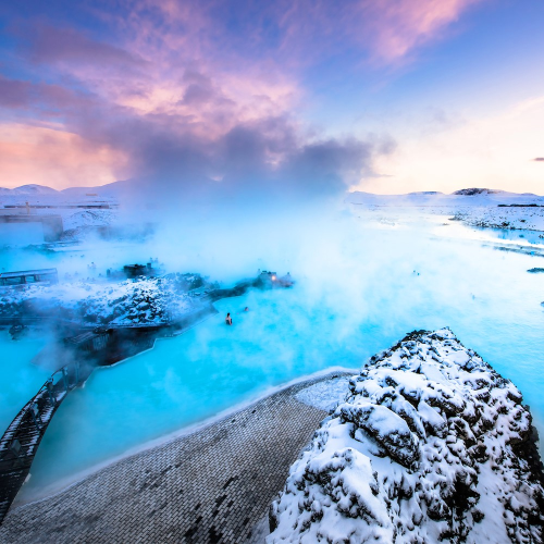 VIP Blue Lagoon getaway in Iceland for two