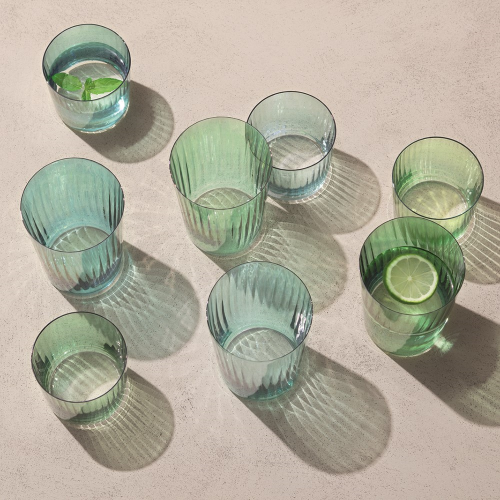 Gems Set of 4 tumblers, 310ml, jade