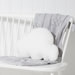 Cloud Cushion, W30 x L47cm, white