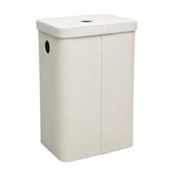 Ilia Laundry bin, L40 x W29.5 x H60cm, linen
