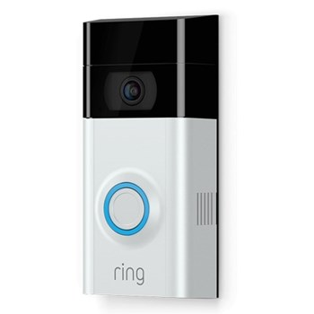 Smart video doorbell with built-in Wi-Fi and camera L12.83 x W6.35 x H2.74cm
