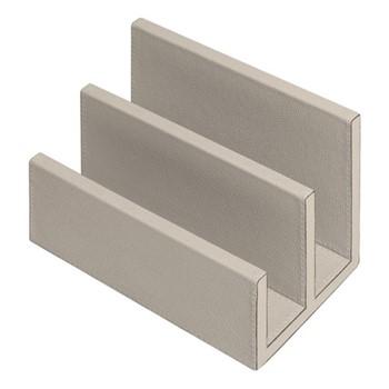Arthur Letter rack, L19 x D12 x H13cm, grey