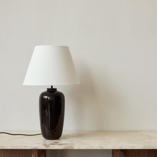 Torso Table lamp, H57 x D35cm, Black