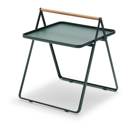 By Your Side Table, L42 x W43 x H49cm, Hunter Green