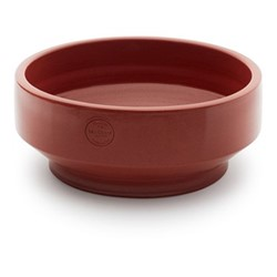 Edge Low outdoor pot, Dia38 x H15cm, teracotta/burned red