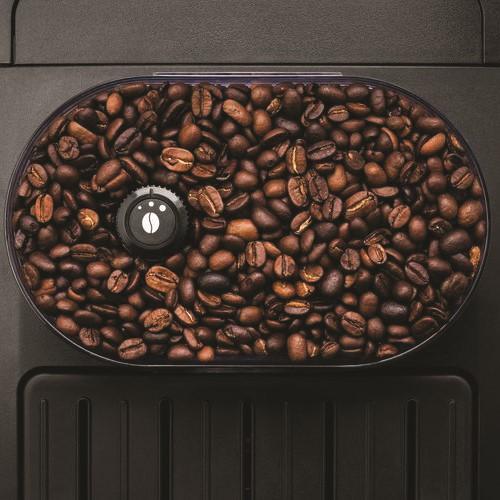 Arabica Bean to cup coffee machine - EA817040, 1.5-2 litre, Black & Silver