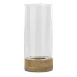 Idha Lantern, 21 x 15.5cm, Mango Wood