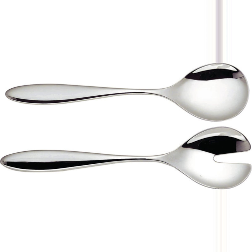 Mami by Stefano Giovannoni Salad serving set, 26cm, Stainless Steel