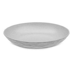 Club Soup plate, H3.5 x dia22cm, organic grey