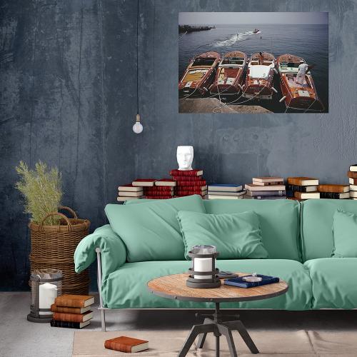 Slim Aarons - Hotel Du Cap Eden-Roc Mounted print, H51 x W76cm, Perspex
