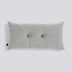 Steelcut Trio 2 Dot Cushion, H70 x L36cm, light grey