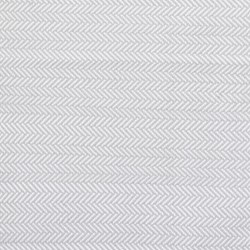 Herringbone Polypropylene indoor/outdoor rug, W183 x L274cm, pearl grey/white