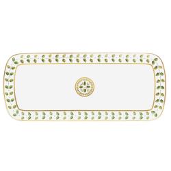 Constance Rectangular cake platter