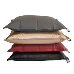 Jumbo - Quilted Beanbag, 175 x 135cm, urban black