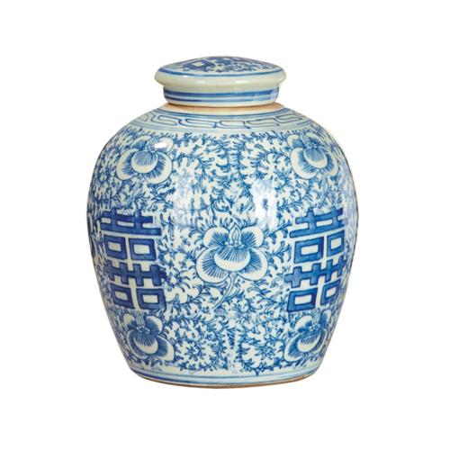Minxian Jar, Blue