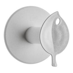 Sense Toilet roll holder, H12.7 x W12.7 x L13cm, organic grey