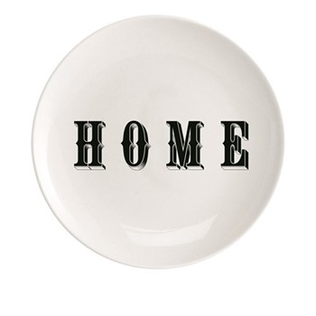 Home Plate, Dia20cm, black/white