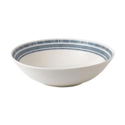 Ellen DeGeneres - Dark Blue Chevron Bowl, 29cm