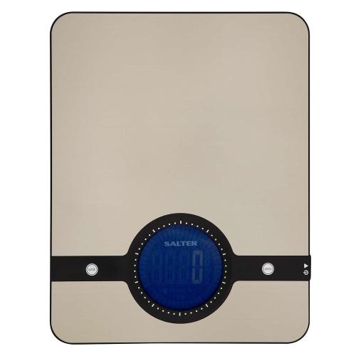 Geo Digital kitchen scale, 5kg, Stainless Steel