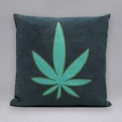 The Maryjane Cushion, 45 x 45cm, green