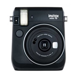 Instant camera with 10 shots of film, built-in flash and hand strap H11.3 x W9.9 x D5.3cm