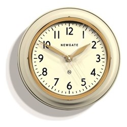 The Cookhouse II Wall clock, 35 x 10cm, linen white