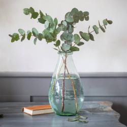 Broadwell Extra large glass vase, H29m x W15cm, Glass