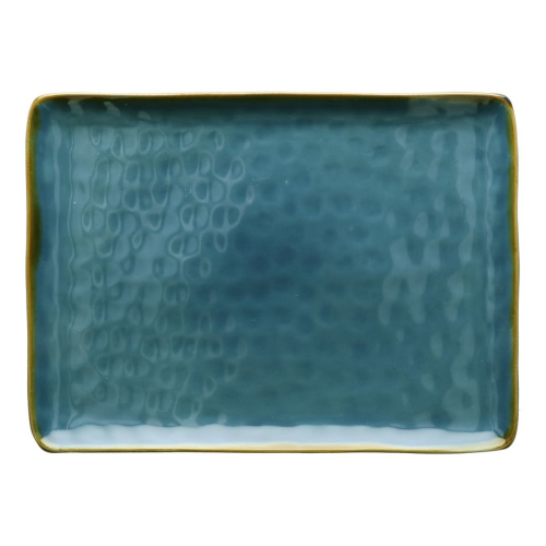 Concerto Rectangular tray, L36 x W26.5cm, Blue