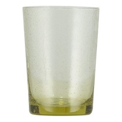 Set of 6 tumblers, H11 x D8cm - 340ml, tuscan yellow