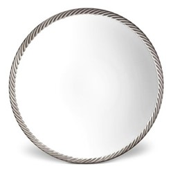 Corde Soup plate, 23cm, platinum