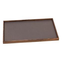 Phorma Rectangular tray, 32 x 48cm, smoke