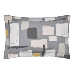 Composition Oxford pillowcase, L48 x W74cm, putty