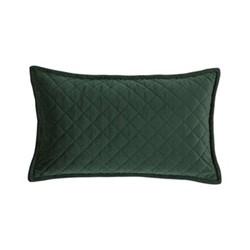 Edmonton Cushion, 30 x 50cm, dark moss