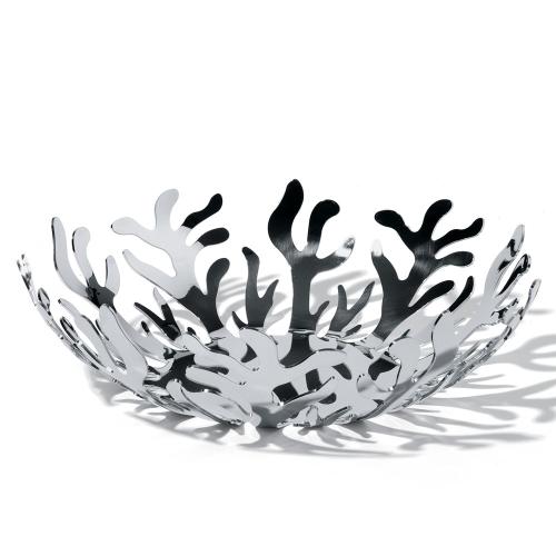 Mediterraneo by Emma Silvestris Bowl, 29cm, stainless steel