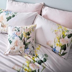 Elegant Pair of standard pillowcases, 48 x 74cm, blush