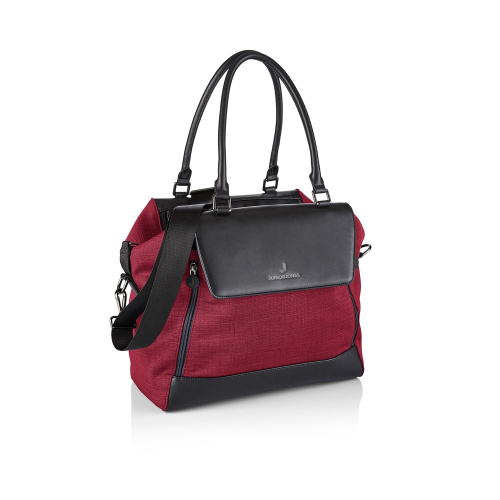 Jessie Changing bag, Persian red, H27 x W34 x L17cm, Red